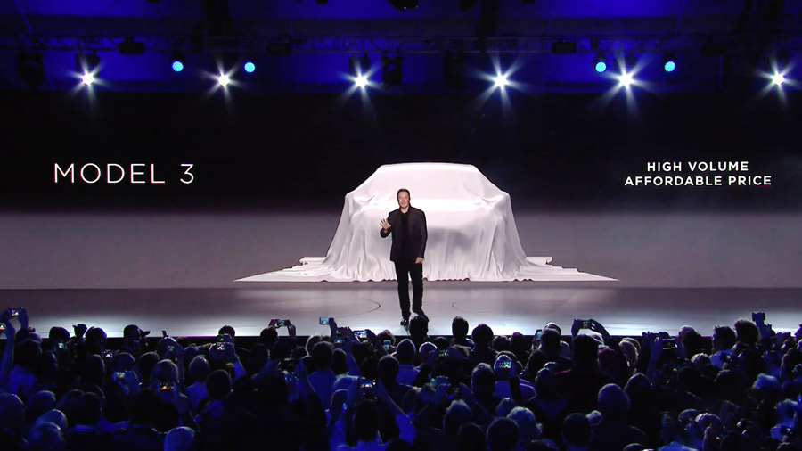 Tesla Model 3 Announcement